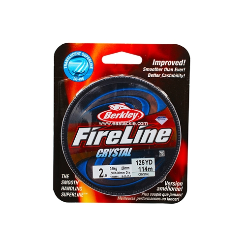 Berkley - FireLine Fused Crystal - Braided / PE Line | Eastackle