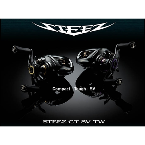 Daiwa - 2019 Steez CT SV TW - Bait Casting Reels | Eastackle