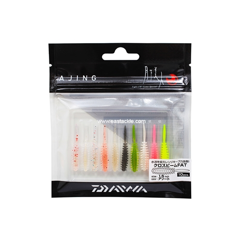 Daiwa - 月下美人 Gekkabijin Cross Beam Fat 1.5in - Soft Plastic Swim Bait | Eastackle