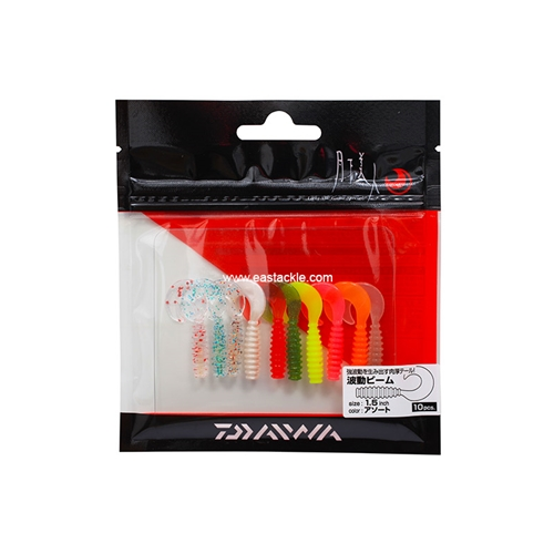 Daiwa - 月下美人 Gekkabijin Wave Beam 1.5in - Soft Plastic Swim Bait | Eastackle