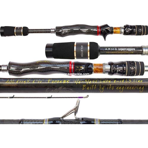 Spinning and Bait Casting - Fishing Rods | Eastackle