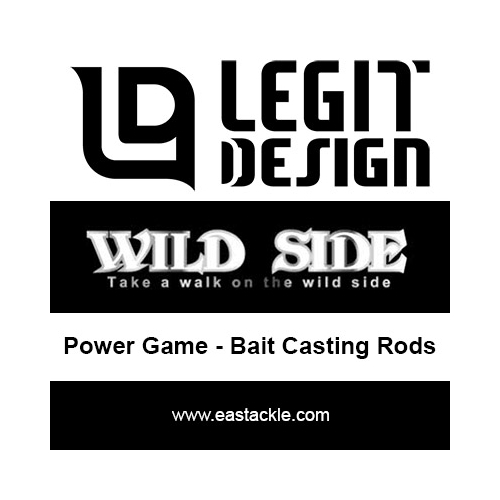 Legit Design - Wild Side Power Game Special - Bait Casting Rods | Eastackle