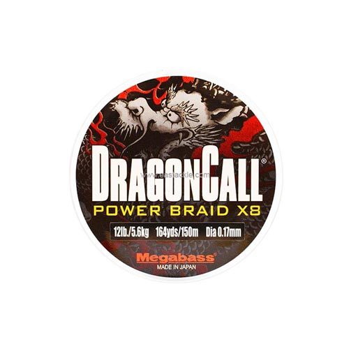 Megabass - DragonCall Power Braid x8