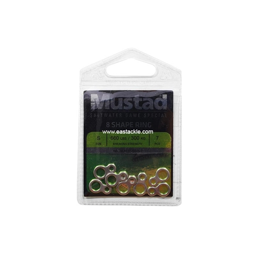 Mustad - 8 Shape Ring | Eastackle