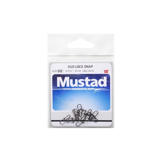 Mustad - Duo Lock Snap | Eastackle