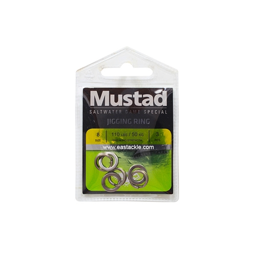 Mustad - Stainless Steel Jigging Ring | Eastackle
