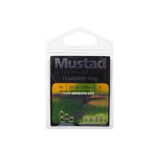 Mustad - Teardrop Ring | Eastackle