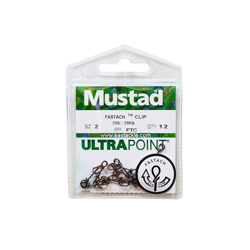 Mustad - Ultra Point Fastach Clip | Eastackle