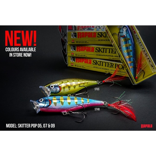 Rapala - Skitter Pop - Topwater Popper | Eastackle