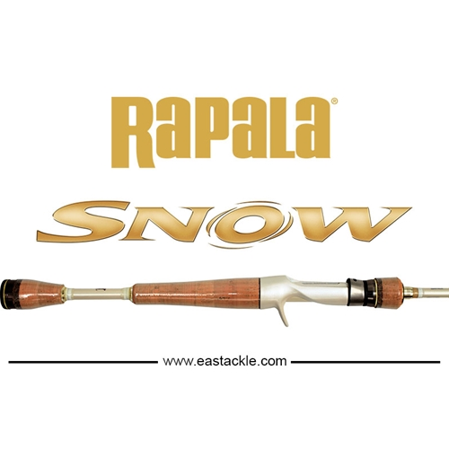 Rapala - Snow - Bait Casting Rods | Eastackle
