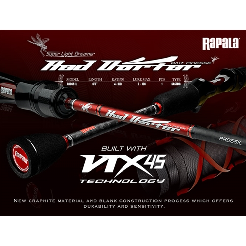Rapala - Super Light Dreamer - Bait Casting Rods | Eastackle