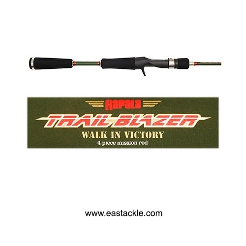 Rapala - Trail Blazer - 4 Piece Travel Bait Casting Rods | Eastackle