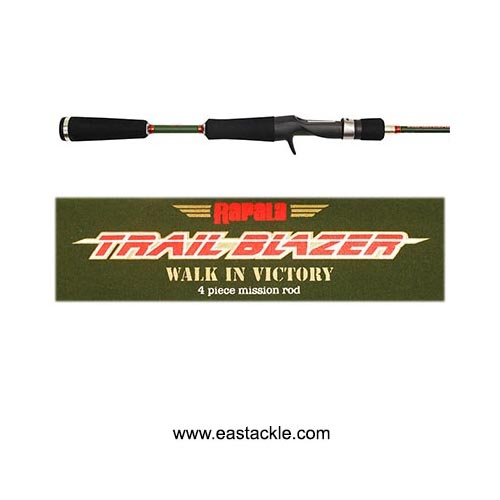 Rapala - Trail Blazer - Travel Baitcasting Rods
