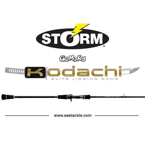 Storm - 2017 Kodachi - Elite Jigging Game - Overhead Rod | Eastackle