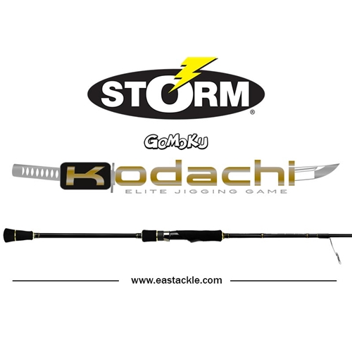 Storm - 2017 Kodachi - Elite Jigging Game - Spinning Rod | Eastackle