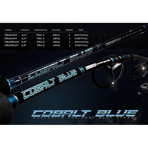Storm - 2019 Cobalt Blue - Overhead Rod | Eastackle
