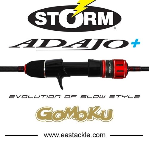 Storm - Adajo+ (Plus) - Overhead Slow Fall Jigging Rods | Eastackle