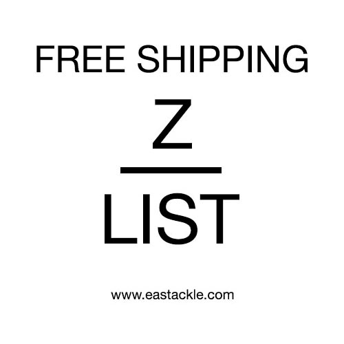Product List - Z - Free Shipping | Eastackle