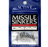 Active - Lead Missile/Nail Sinkers | Eastackle