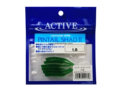 "Active - Pintail Shad II - 1.8"" #5 - KEIMURA GREEN - Soft Plastic Jerk Bait 