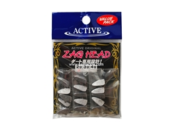Active - Zag Head 2grams - Jighead (Value Pack) | Eastackle