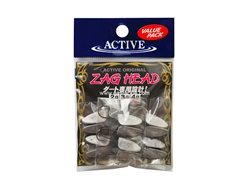 Active - Zag Head 4grams - Jighead (Value Pack) | Eastackle