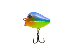 An Lure - Hoyi 35 - BLUE-YELLOW - Floating Lipless Minnow | Eastackle