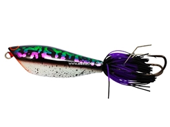 An Lure - Hyper Poke 75 - Purple Striped Snakehead - Sinking Frog Bait | Eastackle