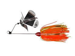 An Lure - PitBull 2J-BO Double Prop Buzz Bait - RED - Sinking Wire Bait | Eastackle