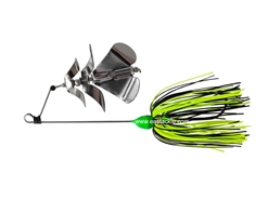 An Lure - PitBull 3J-BO Triple Prop Buzz Bait - GREEN - Sinking Wire Bait | Eastackle