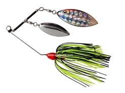 An Lure - PitBull 69Spinner Bait - RED YELLOW - Sinking Wire Bait | Eastackle