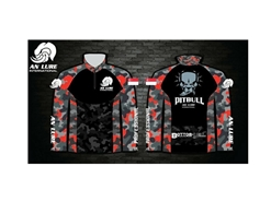 An Lure - PitBull Long Sleeve Hoodie Fishing Shirt - Kid's SS | Eastackle