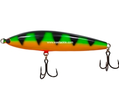 An Lure - Prew 120 SW - FIRE TIGER - Sinking Pencil Bait
