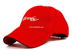 Bassday Air Mesh Cap - Red