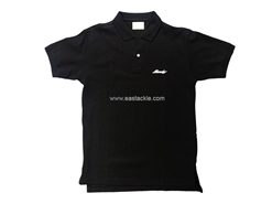 Bassday - Black Polo Shirt - Large