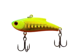 Bassday - Range VIB 45ES - FLASH CHARTRUSEREUSE - HH-100 - Sinking Vibration Lipless Crankbait | Eastackle