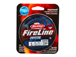 Berkley - FireLine Fused Crystal 125yds - 2LB - Braided/PE Line | Eastackle