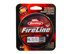 Berkley - FireLine Fused Smoke 125yds - 14LB - Braided/PE Line | Eastackle