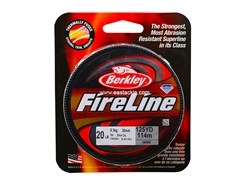 Berkley - FireLine Fused Smoke 125yds - 20LB - Braided/PE Line | Eastackle