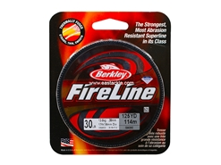 Berkley - FireLine Fused Smoke 125yds - 30LB - Braided/PE Line | Eastackle