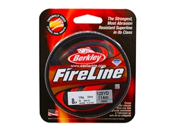 Berkley - FireLine Fused Smoke 125yds - 8LB - Braided/PE Line | Eastackle