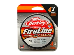Berkley - FireLine Ultra 8 Carrier Crystal 125yards - 10LB - Braided/PE Line | Eastackle