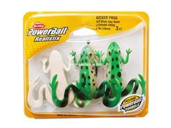 Berkley - PowerBait Realistix Kicker Frog - LEOPARD FROG | Eastackle
