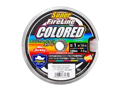Berkley - Super FireLine COLOURED 100m - PE1.0 (16LB) - Braided / PE Line | Eastackle