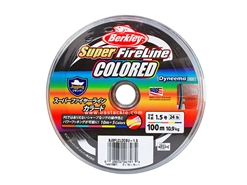 Berkley - Super FireLine COLOURED 100m - PE1.5 (24LB) - Braided / PE Line | Eastackle