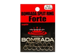 Bombada - SPLIT RING FORTE - #4 - REGULAR PACK