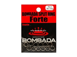 Bombada - SPLIT RING FORTE - #5 - REGULAR PACK