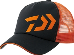Daiwa - 2019 Ball Cap - DC-62009 - BLACK x ORANGE - Free Size | Eastackle