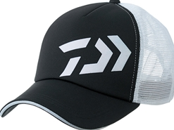 Daiwa - 2019 Ball Cap - DC-62009 - BLACK x WHITE - Free Size | Eastackle