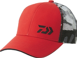 Daiwa - 2019 Ball Cap - DC-70009 - RED - Free Size | Eastackle
